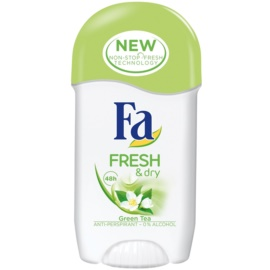 Fa Fresh & Dry Green Tea tuhý antiperspitant (48h) 50 ml