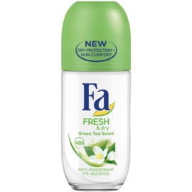 Fa Fresh & Dry Green Tea antiperspirant roll-on (48h) 50 ml