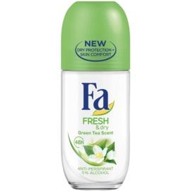 Fa Fresh & Dry Green Tea Antiperspirant Roll-On (48h) 50 ml