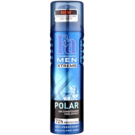 Fa Men Xtreme Polar antitranspirantes em spray (72h) 150 ml