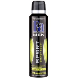 Fa Men Sport Energy Boost antiperspirant ve spreji (72h) 150 ml