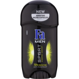 Fa Men Sport Energy Boost antyperspirant w sztyfcie (72h) 50 ml
