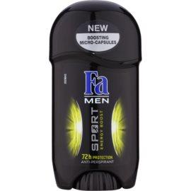 Fa Men Sport Energy Boost tuhý antiperspitant (72h) 50 ml