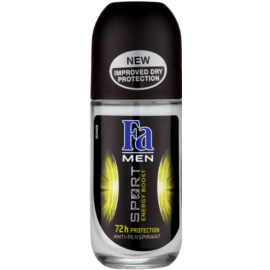 Fa Men Sport Energy Boost kuličkový antiperspirant (72h) 50 ml
