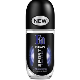 Fa Men Sport Recharge antiperspirant roll-on (72h) 50 ml