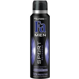Fa Men Sport Recharge antiperspirant Spray (72h) 150 ml