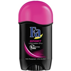 Fa Sport Ultimate Dry tuhý antiperspitant (96h) 50 ml