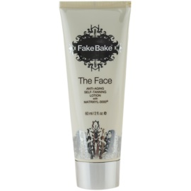 Fake Bake The Face Self - Tanning Milk with Anti-Aging Effect  60 ml
