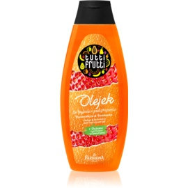Farmona Tutti Frutti Orange & Strawberry Gel-Öl für Bad und Dusche  500 ml