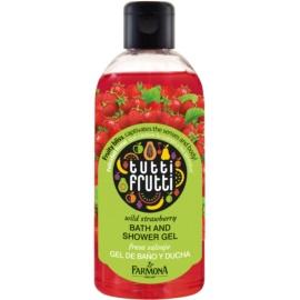 Farmona Tutti Frutti Wild Strawberry sprchový a koupelový gel  300 ml