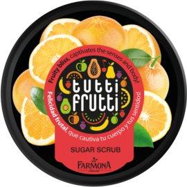 Farmona Tutti Frutti Grapefruit пілінг для тіла з цукром  160 гр