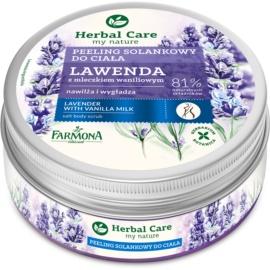 Farmona Herbal Care Lavender Salt Scrub With Moisturizing Effect  220 g