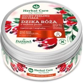 Farmona Herbal Care Wild Rose Smoothing Body Scrub Regenerative Effect  220 g