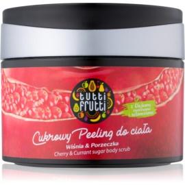 Farmona Tutti Frutti Cherry & Currant peeling cukrowy do ciała  300 g