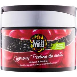 Farmona Tutti Frutti Blackberry & Raspberry цукровий пілінг для тіла  300 гр