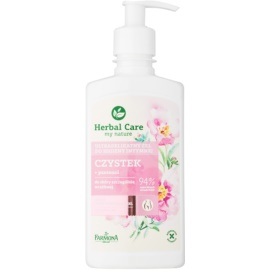 Farmona Herbal Care Cistus nežni gel za intimno higieno za občutljivo kožo  330 ml