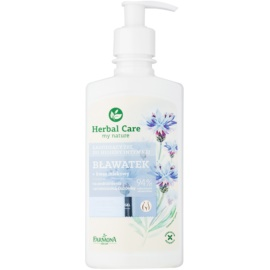 Farmona Herbal Care Cornflower gel calmante para higiene íntima para pele sensível e irritada   330 ml