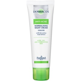 Farmona Dermacos Anti-Acne Normalising and Sebum-Regulating Night Cream  50 ml