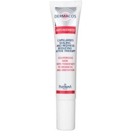 Farmona Dermacos Anti-Redness aktywne serum żelowe wzmacniające drobne żyłki, zapobiegające ich pękaniu  15 ml