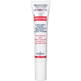 Farmona Dermacos Anti-Redness aktívne gélové sérum pre posilnenie jemných žiliek zabraňujúce ich praskaniu  15 ml