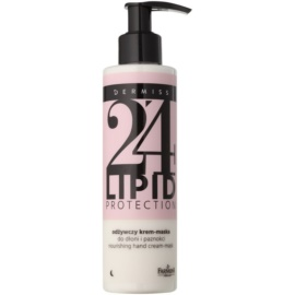 Farmona Dermiss Lipid Protection mascarilla-crema nutritiva de noche para manos y uñas Step 24 200 ml