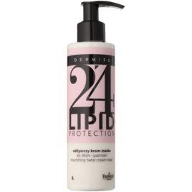 Farmona Dermiss Lipid Protection nährende Creme-Maske für die Nacht für Hände und Fingernägel Step 24 200 ml