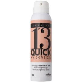Farmona Dermiss Quick Hydration hidratáló testápoló tej spray -ben  150 ml