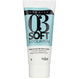 Farmona Dermiss Soft Exfoliation Cleansing Gel Scrub For Skin Resurfacing  75 ml