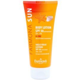 Farmona Sun schützende Sonnenmilch SPF 50  100 ml