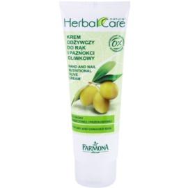 Farmona Herbal Care Olive tápláló krém kézre és körmökre  100 ml