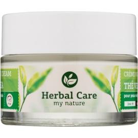 Farmona Herbal Care Green Tea normalisierende und mattierende Tages - und Nachtcreme für fettige und Mischhaut  50 ml
