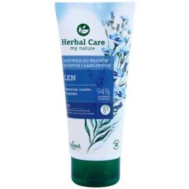 Farmona Herbal Care Flax Seed regenerační kondicionér pro suché a křehké vlasy  200 ml