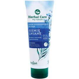Farmona Herbal Care Flax Seed regeneráló krém kézre és körmökre  100 ml