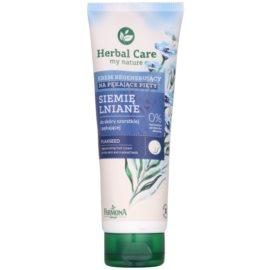 Farmona Herbal Care Flax Seed krém na popraskané päty (10% Urea) 100 ml