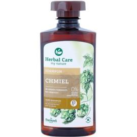 Farmona Herbal Care Hops posilující šampon pro vlasy bez objemu  330 ml