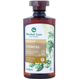 Farmona Herbal Care Hops champú revitalizador para cabello sin volumen  330 ml