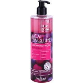 Farmona Hair Genic Acai & Volume objemový šampon pro jemné a zplihlé vlasy  400 ml