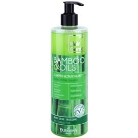 Farmona Hair Genic Bamboo & Oils posilující šampon pro suché a poškozené vlasy  400 ml