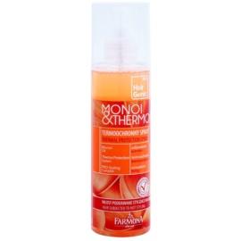 Farmona Hair Genic Monoi & Thermo spray de proteção para finalização térmica de cabelo  200 ml