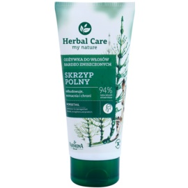 Farmona Herbal Care Horsetail balsam regenerator pentru par deteriorat  200 ml