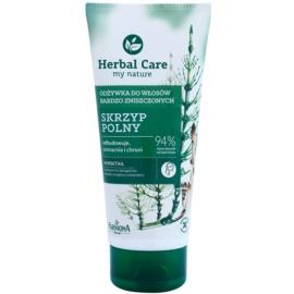 Farmona Herbal Care Horsetail condicionador regenerador para cabelo danificado  200 ml