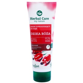 Farmona Herbal Care Wild Rose crema rejuvenecedora para manos y uñas  100 ml