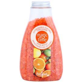Farmona Magic Time Citrus Euphoria kristályos fürdősó ásványi anyagokkal  510 g