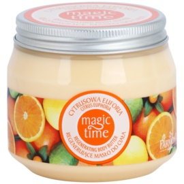 Farmona Magic Time Citrus Euphoria manteca corporal con efecto regenerador  270 ml