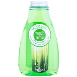 Farmona Magic Time Juicy Bamboo Dusch- und Badgel mit nahrhaften Effekt  425 ml