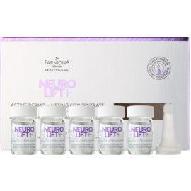 Farmona Neuro Lift+ preparat liftingujący przeciw zmarszczkom mimicznym  5 x 5 ml