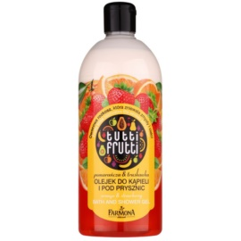 Farmona Tutti Frutti Orange & Strawberry Gel-Öl für Bad und Dusche  500 ml
