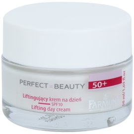 Farmona Perfect Beauty 50+ denný liftingový krém SPF 10  50 ml