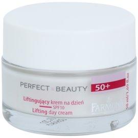 Farmona Perfect Beauty 50+ denní liftingový krém SPF 10  50 ml