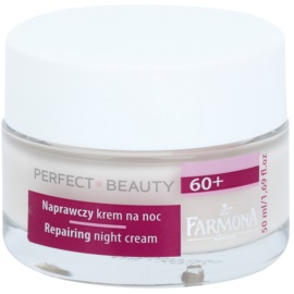 Farmona Perfect Beauty 60+ crema de noapte cu efect de anti imbatranire  50 ml